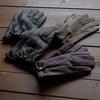 防水加工を施した革で作る日本製の鹿革手袋