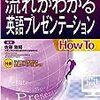 国際学会発表のための英語学習