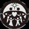 黙示録の「7つの頭と10の角」を示す独生女家庭連合のマークは、基元節と天一国のマークの中にある