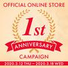 【OFFICIAL ONLINE STORE】1周年記念キャンペーン!