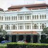 【2017年SFC修行3-4シンガポール】ラッフルズ・ホテルでハイティー~そんな中バッグ破損のアクシデント!涙