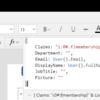 Power Apps で SharePoint のユーザーとグループ列に既定値を設定する方法