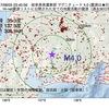 2017年08月05日 03時40分 岐阜県美濃東部でM4.0の地震