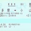 POS端末設置駅での旧運賃乗車変更(JR東日本)