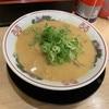 JR大正駅近くの中華そば花京でこってり背脂中華そばを食べてきました