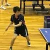リーグ1戦目・一番 2019年 全日本実業団卓球大会・和歌山大会