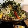 札幌市 札幌ガッつけ蕎麦 / 盛りが凄いのに女子率高い