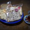 チャイグラスとシフォンケーキ