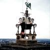 ブールジュの大聖堂北塔の風見鶏(フランス)