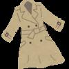 服のミニマル化に大きく貢献。無印良品のトレンチコートを冬も着る意味。