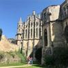 ロマネスク建築のポワティエのノートルダム・ラ・グランド大聖堂