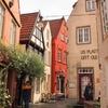 デンマーク&ドイツ&スイス旅「ハンブルクから日帰り旅!おとぎの国ブレーメンのシュノーア地区へ迷い込む」