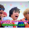 加藤シゲアキくん、30歳のお誕生日おめでとう!!!