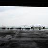 16-35mm広角ズームで撮る飛行機整備工場