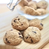 ざっくざくオートミールチョコクッキーのヘルシーおやつ。【小麦粉不使用のレシピ】