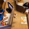 「どこでも自習室」のおかげでリビング学習の集中力がアップした。