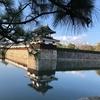 広島城二の丸、浮島でとても美しいですよ。