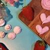【レンジメレンゲクッキー】材料3つ!たった2分でさくさくしゅわしゅわ♪いちご風味!