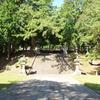 香山公園の毛利家墓所