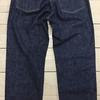 TOPがご提案するボトムス CUSHMAN/クッシュマン 新定番の13.5ozデニム5ポケットジーンズの太くも細くもない絶妙なシルエットがイイ感じ(^^♪