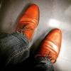 RESHで靴のメンテナンスを依頼した