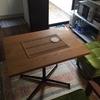 無垢のテーブルのメンテナンスをしよう!