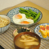 玄米で、旬の竹の子ご飯を作りました (筍の下処理メイン) @家ごはん