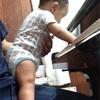 長男はピアノ好き