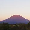 遅い夏休み 北海道の赤富士 & 21P