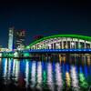 勝鬨橋の夜景を撮影に行ったよ SIGMA 10-20mm f3.5