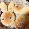 ロールパンと年賀状作り