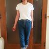 進化したヘインズのパックTシャツ|ジャパンフィット女性用は1枚で着られるデイリーアイテム