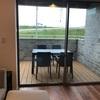 テラスの屋外用テーブルセット