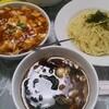 高円寺【一番】小麻婆丼とつけ麺のセット ¥930