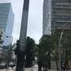 雨の東京ミッドタウン