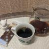 今回のコーヒーはコスタリカ(中煎り)~お茶請けはポッキー~