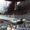 潜水艦と戦艦大和。
