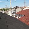 高所恐怖症の人間が屋根に登ろうとするもんじゃあない。