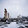 思い出の(アフロディシャス)、雪の中を1人で歩いて!