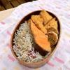 焼き鮭弁当と糖質制限弁当