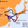 日本と中国の「距離感」と昔の航行ルート