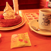 『コメダ珈琲』へ初めて行って、「ブレンドコーヒー」と「シロノワール」、テイクアウトで「あみ焼きチキンホットサンド」を買って飲んで食べた感想です