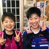 りん選手が優勝!三重県 卓球 国体 女子少年の部二次選考会