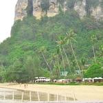 「センタラグランドビーチ」~アオナンビーチの西側でホテルのプライベートビーチに潜入してしまった!!
