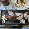 夕食:新鮮なイカ