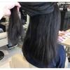 ストレートパーマでクセとジリジリ毛を改善して毛先までまとまりを。