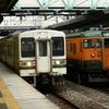 【鉄道写真】JR東日本107系・115系