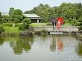 日本庭園での前撮り