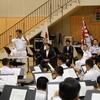 水交会下総支部の東京音楽隊研修