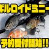 【イマカツ】タックルを選ばないギル型フラットサイドクランク「ギルロイドミニー」通販予約受付開始!